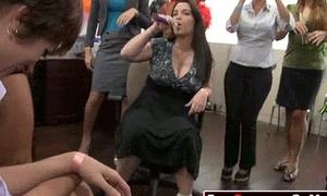 24 Rich milfs besmirched strippers at underground cfnm party!38