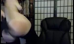 Nice big duff spanked