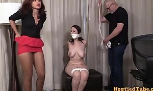 And Gagged - Amateur Busty Teen Bondage - Sara Bound