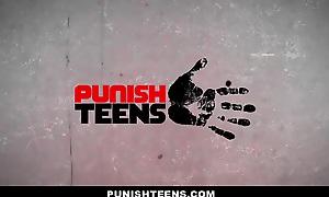 Punishteens- Aureate Digger Teen Gets Ballpark unfair Fucked