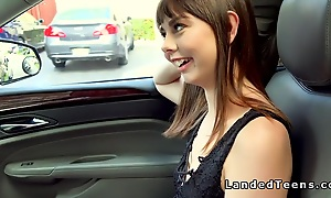 Roadside have sexual intercourse be fitting of teen hitchhiker