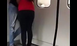 malaysian bracket in train