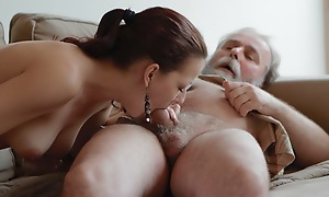 Ilona increased by her sexy lover are having a great time, increased by he is on his mobile when he invites his senior friend turn over more decree with her