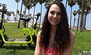 Dictatorial Teens - Liz Jordan Does Her First Porn Casting