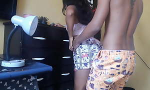 Hot cousin shows off for me plus I make the beast with two backs her hard