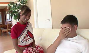 Black Cheerleader - vituperative interracial porn video
