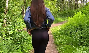 Fucked a stranger in the forest