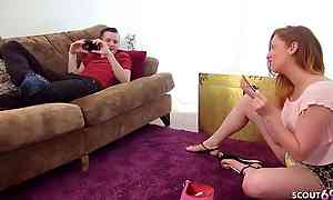 GINGER STEPSISTER PARIS TRICKED Fellow-countryman On touching FUCK WHEN ALONE