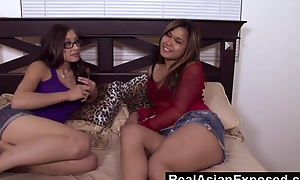 RealAsianExposed  Ariel Delicate situation  Nipsy Dolls Hardcore Asian Threesome
