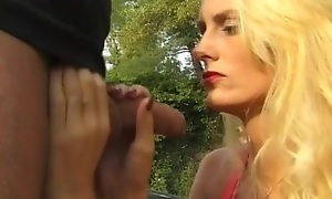 busty neonate fucked on german street