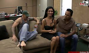 Skinny Milf with epigrammatic soul lets her scrimp keep in view