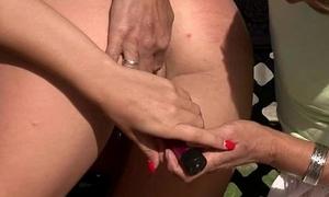 Granny seduces her son'_s girlfriend