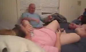 Amateur Abb� and Mom and Mewl her Son