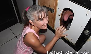 Milf Visits Glory Hole for Cunning Time