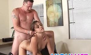 Gigi Rivera gets say no to pussy nailed