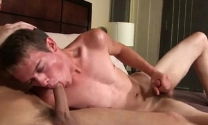 Naked men Trent and Alex both denote off their oral skills, and