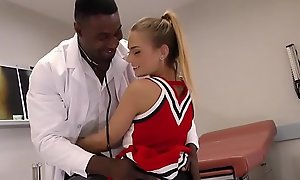 Inviting legal age teenager sydney cole bonks doctor's bbc in a convalescent home