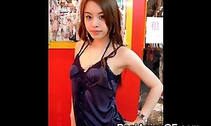 Downcast oriental legal age teenager gfs!