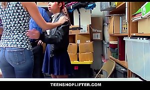 Cute Asian Mama Christy Love Fucks Officer Far Realize Her Asian Teen Daughter Off Of Pinching Charges