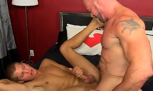 Twink sex Blade is vulnerable happy to share his youngster bone together with