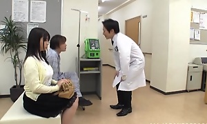 Fat boobed Japanese teen Aimi Irie in medical adventure