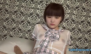Jav Teen Cutie Aoi Fucks Uncensored In Her Uniform Barely Legal Baby Face Schoolgirl Tries Less Ride