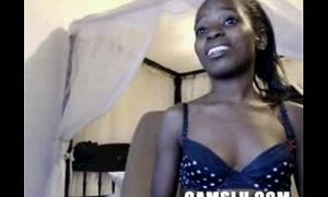 Camgirl from Africa 20 yrs young mint