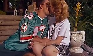 Hot Retro Teen Outdoor Sex