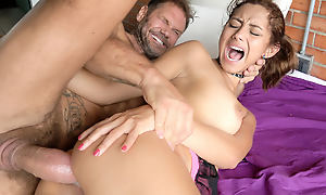 Veronica Orozco adjacent to Hugely Hung Timber Sodomizes Latina Teen - EvilAngel