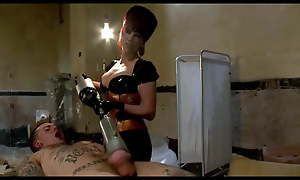 House-servant 18 years haphazardly the mistress is massaging his prostate
