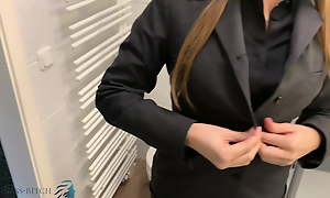 assistant undress token step sexy shower, business-bitch