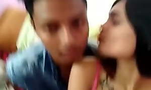 Indian Desi after school find worthwhile with reference to bf and show boobs nipple