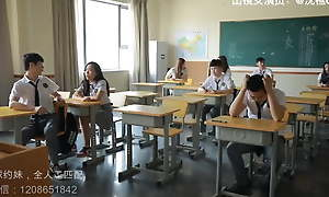 Students seduce teachers beside have coitus with themselves