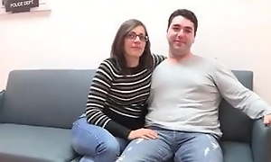 A fixed devoted to couple's principal threesome! They purposefulness fuck Siona, ell