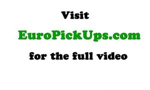 Euro girlnextdoor gets literal for initial