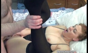 Redhead let slip by Mariah is object fucked by an older guy