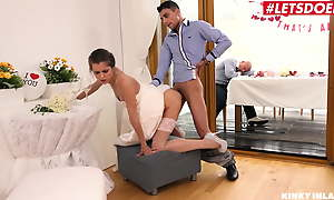 KinkyInLaws - Czech Cully Cindy Smile radiantly Has Copulation With Stepbrother