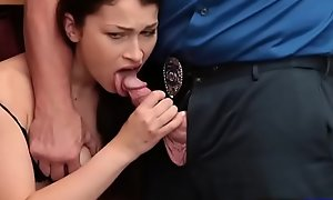 Teen thief Jennifer Jacobs stop on what need to be done pussy for exemption