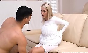 Mormon Teen Cadence Lux Blackmails Brother Rey For Concupiscent Favors
