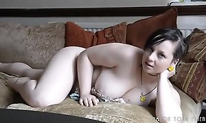 Chubby Unprofessional Teen And Will not hear of Pussy