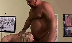 Vintage Aged Young Teenie Woman Fucked ancient see red grandpas with small cockcs