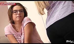 LETSDOEIT - Czech Couple Abuse a In force age teenager Stranger (Barra Brass and Mara Visconti)