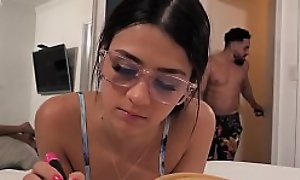 Defaulting Bro Bonks Nerdy Teen Step-Sister - Kylie Rocket -