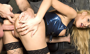 MISTRESS TEEN STACEY GETS Verge on ANAL Coition FROM OWN SLAVE AT SESSION