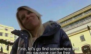 Fetch Pickups - Amateur Czech Teen Unsubtle Fucks For Assets 01