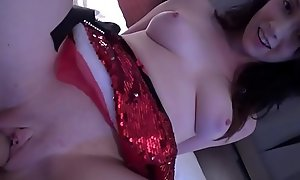 Christmas After Party With Pawg Teen Angel of mercy - Athena Rayne - Family Therapy