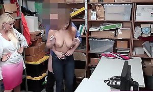 Busty Teen Suspect Immediately Entitled To Theft