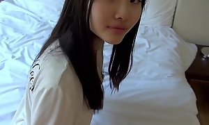 Homemade japanese legal age teenager acquires drilled lasting at home