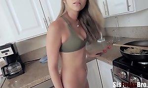 Blonde Teen SISTER wants my cock- Athena Faris