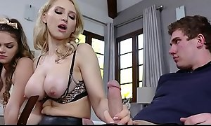 Young Blonde Extreme Teen Foster Step Sister Athena Faris Triad With MILF Foster Step Mam Alix Lynx Added to Step Brother